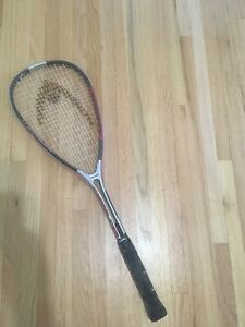 Two Head Squash Racquets