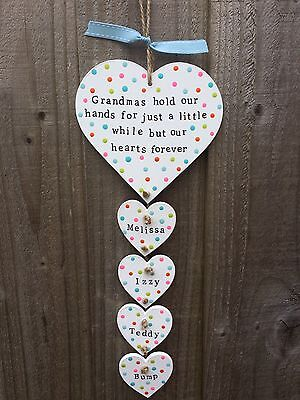 sign Mothers Day gift present  Mum Nanny Grandma Grandmother (Plaque Sign)