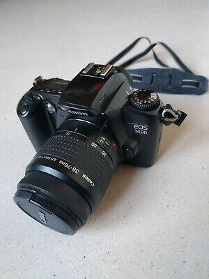 Macchina fotografica rullino Canon EOS 3000 con borsa compresa