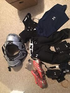 Bag full of football gear 160$ obo  London Ontario image 1