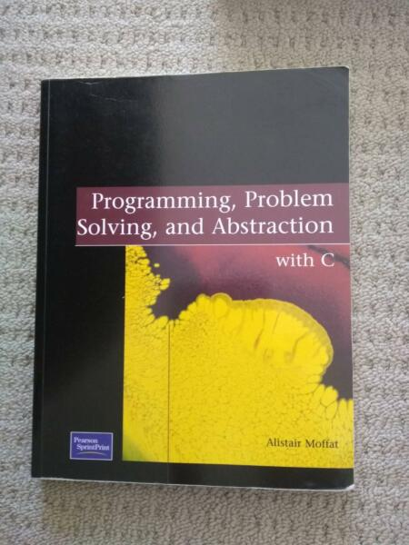 programming problem solving and abstraction with c by alistair moffat