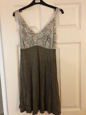 Jezebel Night Gown Size L Grey