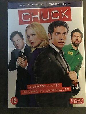 Chuck Saison 4 [DVD] - Français