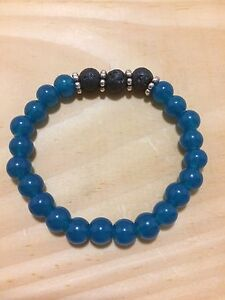 Aromatherapy Essential Oil Bracelets with Lava rock London Ontario image 7