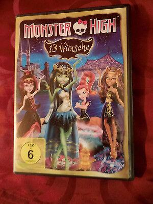 Monster High Halloween Puppe (Monster High - 13 Wünsche - Trick Film Halloween mit den Mattel Puppen - DVD -)