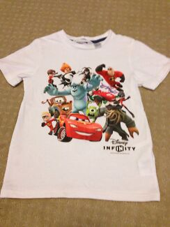 Disney infinity T-shirt size 4-6yrs   Hamersley Stirling Area Preview