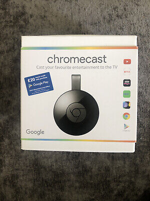 Google Chromecast (2nd Generation) Media Streamer - BNIB - Unrequired Gift