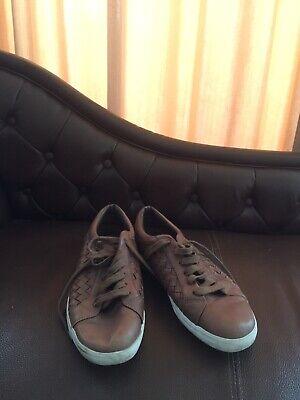 Original Esprit Herren Leder Schuhe Halbschuhe Sneaker Boots Gr 44