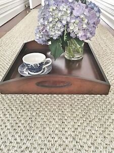 Dark Timber Decorative Tray Marrickville Marrickville Area Preview