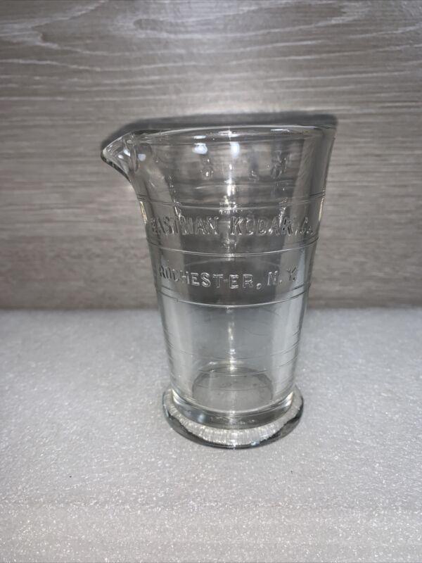 Eastman Kodak Rochester New York 4 oz Glass Measuring Cup