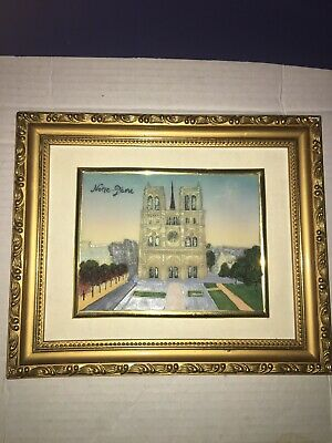Notre-Dame Cathedral Framed Picture Posh Italy Design