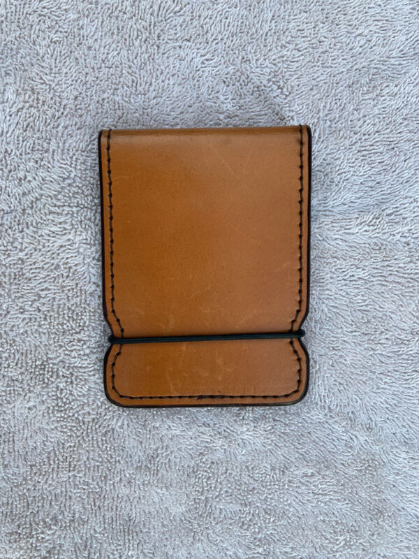 NEW Scotty Cameron brown leather cash cover