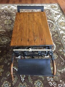 Antique Grain Scale With Counter Weights