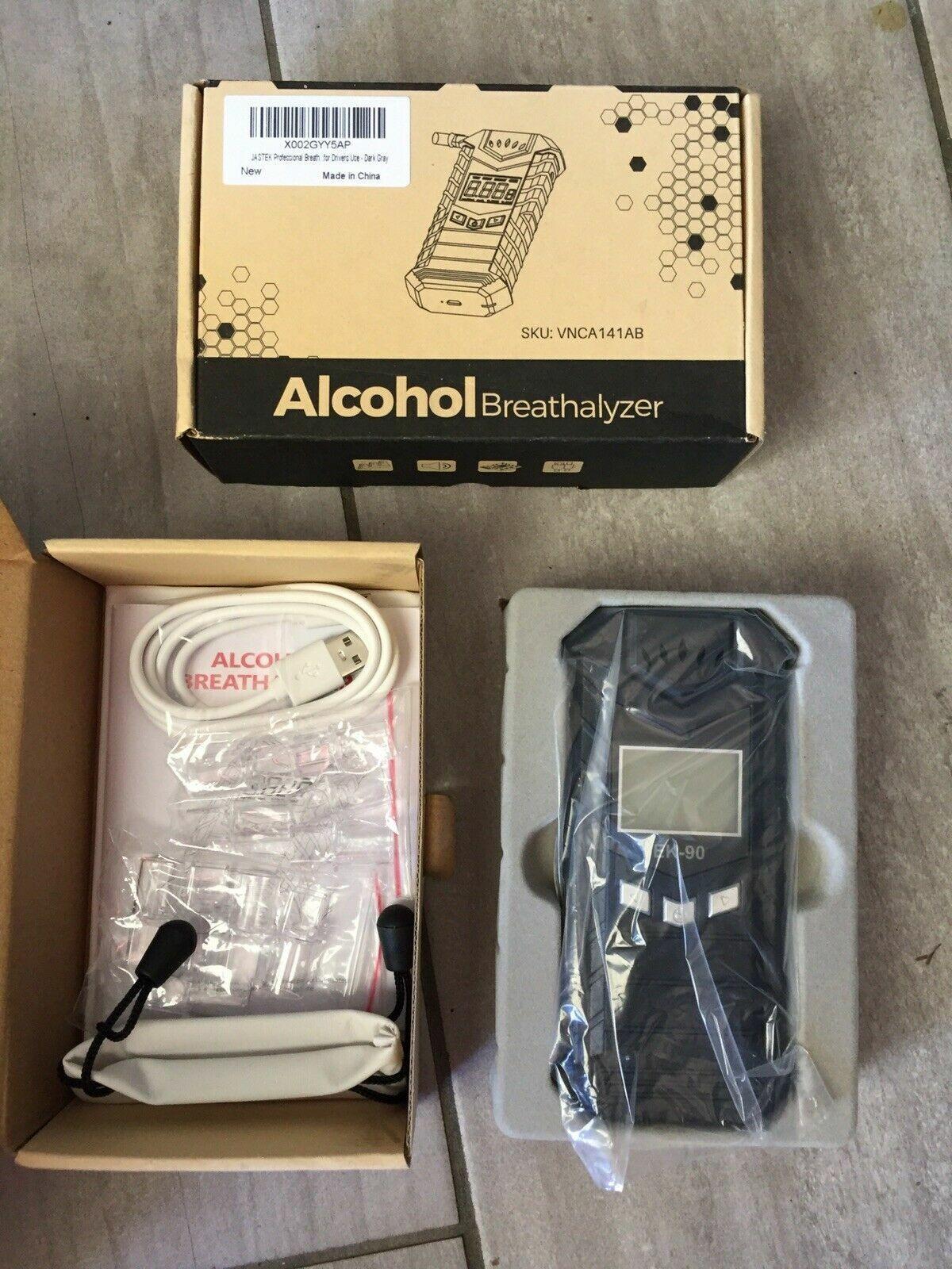 breathalyzer professional digital breath alcohol tester usb