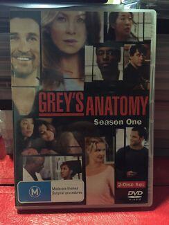 Greys Anatomy S1 Clarence Gardens Mitcham Area Preview
