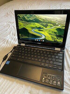 Acer Chromebook R11 CB5-132T-C67Q Intel Celeron N3060 Processor 32GB - Blue