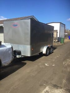 All Aluminum Easy Hauler Cargo Trailer