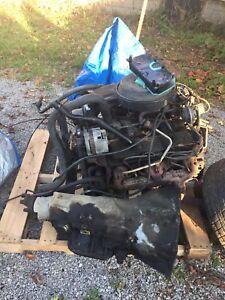 350 gmc motor and tranny