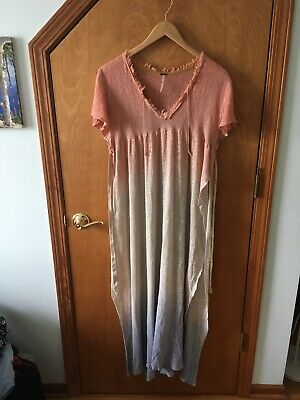 Free People Tunic/Swimsuit Cover Up Sz L