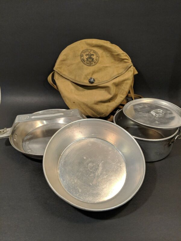 Vintage Boy Scouts Of America BSA Mess Kit National Council New York City