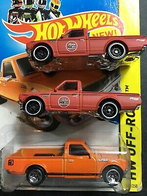 Hot Wheels Lot of 3 Datsun 620 Pickup  (2) New 2020 Version Loose