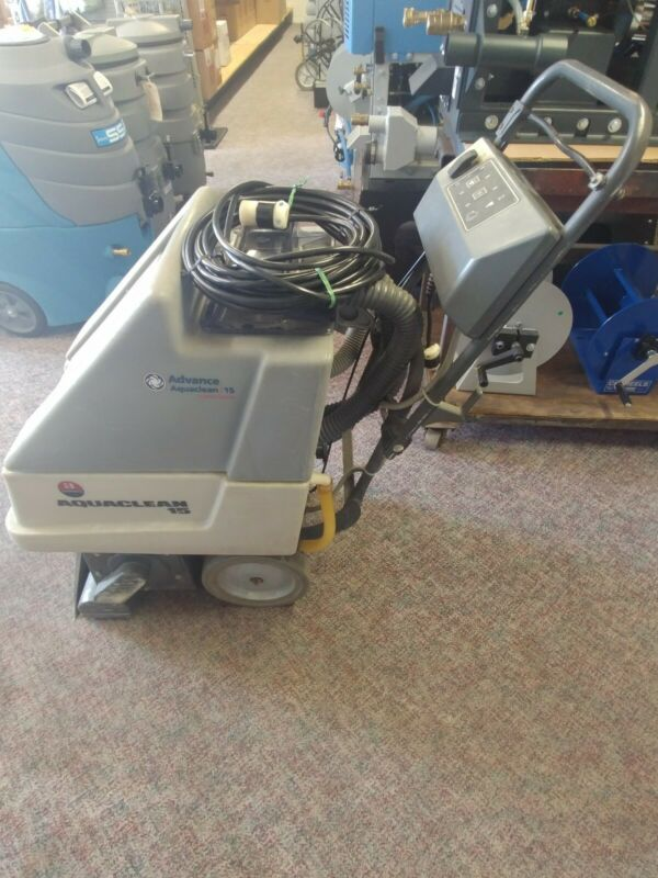 Nilfisk Advance Aquaclean 15 walk behind Carpet Cleaner extractor
