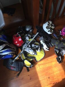 Assorted Lacrosse Equipment