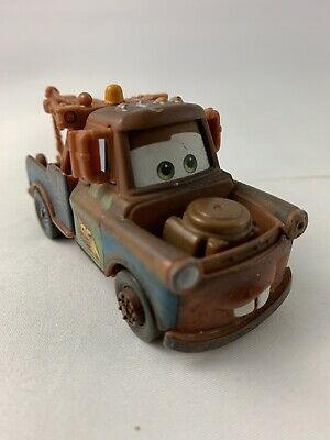 Disney Pixar World of Cars 3 Mater Brown Tow Truck Toy Car Mattel 3.5