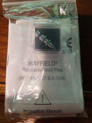 A1048 A-1047 Mayfield Integra Reusable Skull Pins Steel New R2
