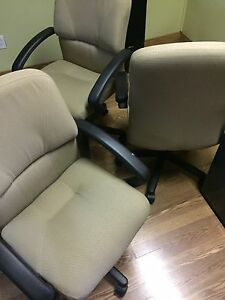 hydraulic chairs and steel cabinets