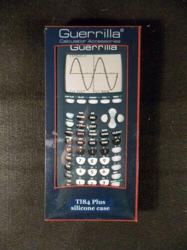 Guerrilla Blue Silicone Protective Case for Texas Instruments TI84 Plus NEW!