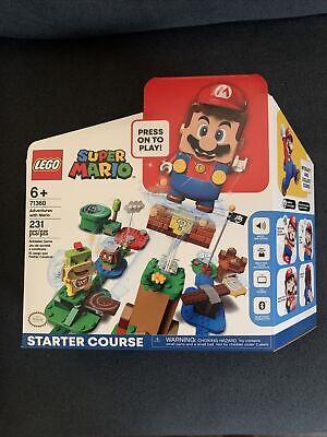 LEGO Super Mario Adventures Mario Starter Course 71360 Brand New! Ready To Ship!