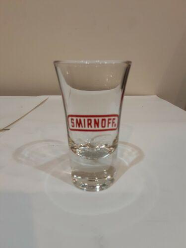 1 SMIRNOFF VODKA TALL SHOT GLASS