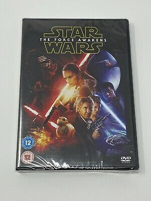 STAR WARS THE FORCE AWAKENS - DVD - BRAND NEW & SEALED