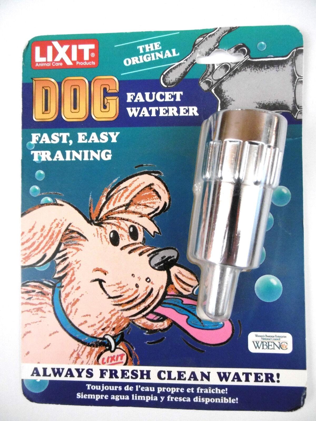 NEW Original LIXIT Dog Outdoor Faucet Waterer L-100  - $12.99