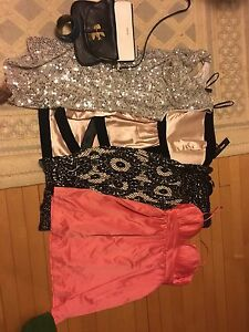 Lot of dresses, purses size 4-6 retail over $700
