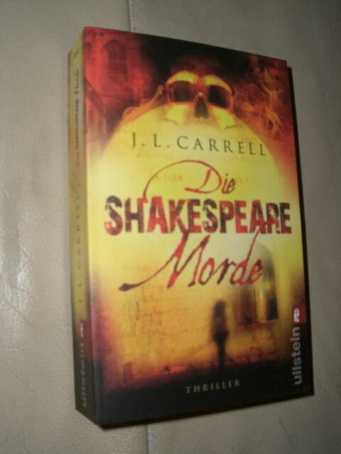 J. L. Carrell: Die Shakespeare Morde