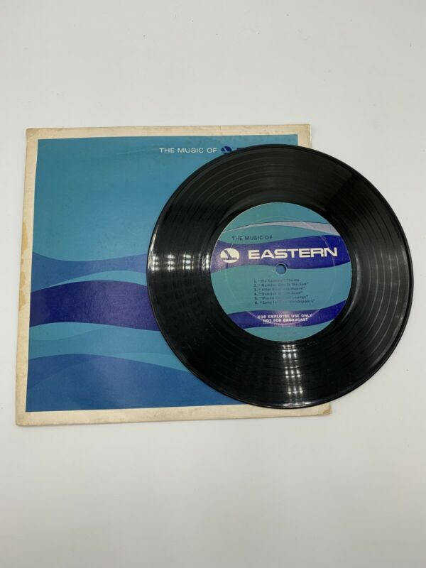 THE MUSIC OF EASTERN - Astrud Gilberto RECORD & SLEEVE - PROMO Eastern Airlines