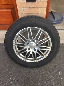Winter tires and rims 255/55/R18