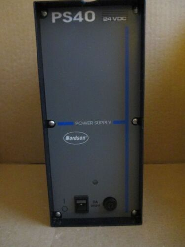 Nordson 131739H Power Supply PS40, 24VDC.