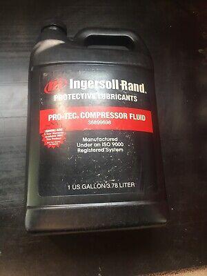 New 1 Gallon Ingersoll-rand Pro-tec Compressor Fluid Oil 36899698 Nos