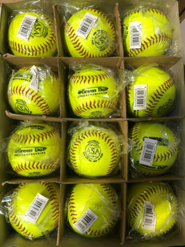 Worth ProTac 11in 44/375 ASA Synthetic Fast Pitch Soft Ball *Dozen*