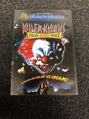 Killer Klowns From Outer Space DVD Widescreen Clowns - Killer Clowns From Outer Space