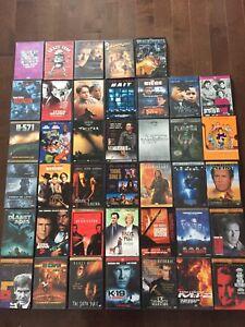 Lot de 40 DVD - Films