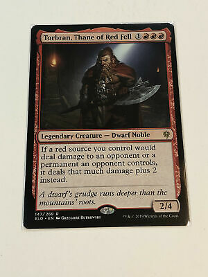 MTG - Rare - Torbran, Thane of Red Fell (ELD) - NM Pack Fresh