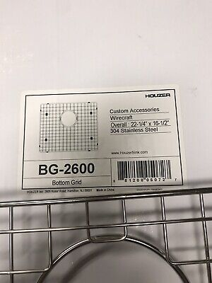 Farm Sink Bottom Grid (Houzer) New Box has been opened but never used