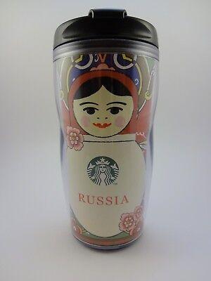 Starbucks tumbler Matryoshka Russia 237 ml, NEW. Direct from Russia!
