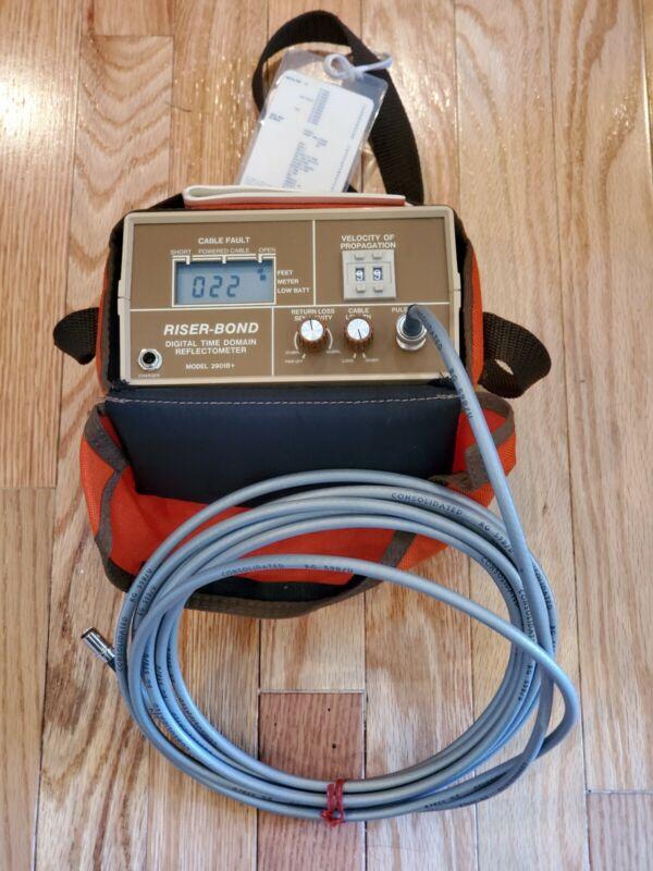 Riser Bond RiserBond TDR Digital Time Domain Reflectometer 2901B+
