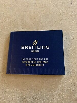 Breitling Instructions for use Superocean Heritage B20 Automatic Watch Original
