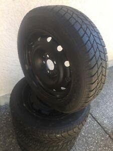 """16""""Studded winters new on rims"""